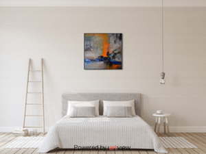 Artworks compliment your space