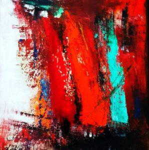 Celebrations-oil-on-canvas